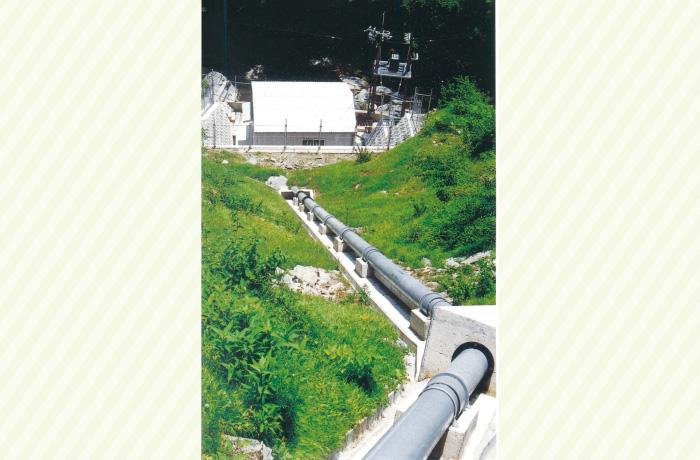 小水力発電(高知県)