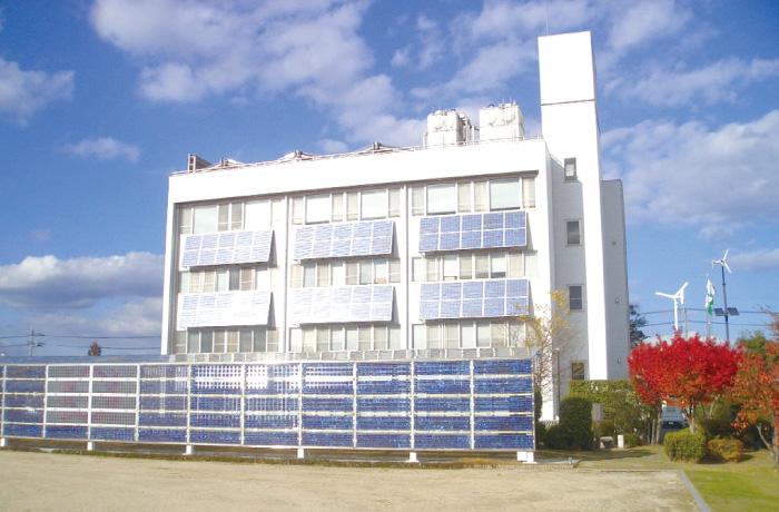 太陽熱・太陽光利用エコオフィス(広島県)